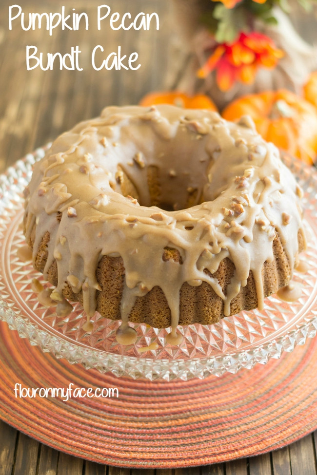 Fall Bundt Cake Recipes  Pumpkin Pecan Bundt Cake Flour My Face