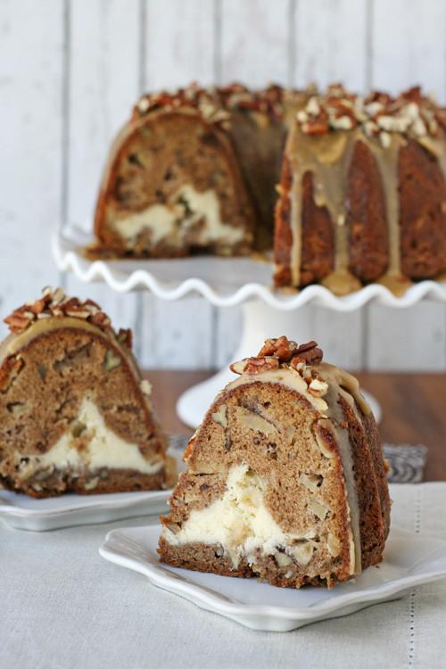 Fall Bundt Cake Recipes  Apple Cream Cheese Bundt Cake – Glorious Treats