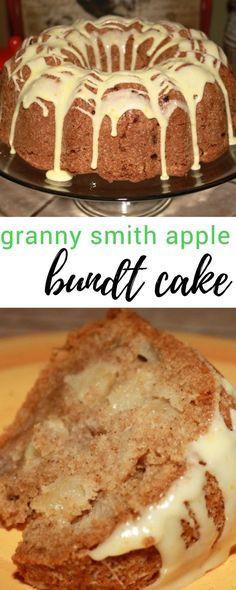 Fall Bundt Cake Recipes  Granny Smith Apple Bundt Cake Recipe in 2019
