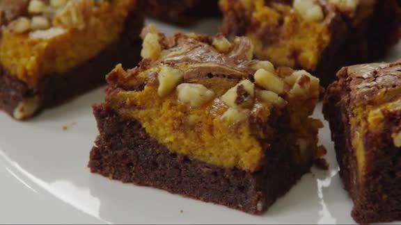 Fall Chocolate Desserts  Ultimate Fall Dessert Chocolate Pumpkin Brownies