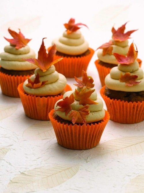 Fall Cupcakes Ideas  Fall cupcakes YumYYY