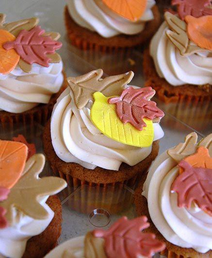 Fall Cupcakes Ideas  Best 25 Autumn cupcakes ideas on Pinterest