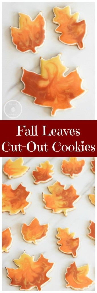 Fall Cut Out Cookies  1000 images about The Gold Lining Girl Blog Recipes on
