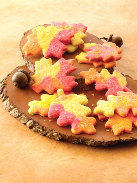 Fall Cut Out Cookies  Fresh Fall Leaves Sugar Cookies That Is Fall