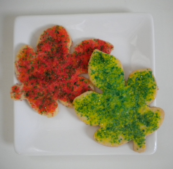 Fall Cut Out Cookies  Fall cut out cookies