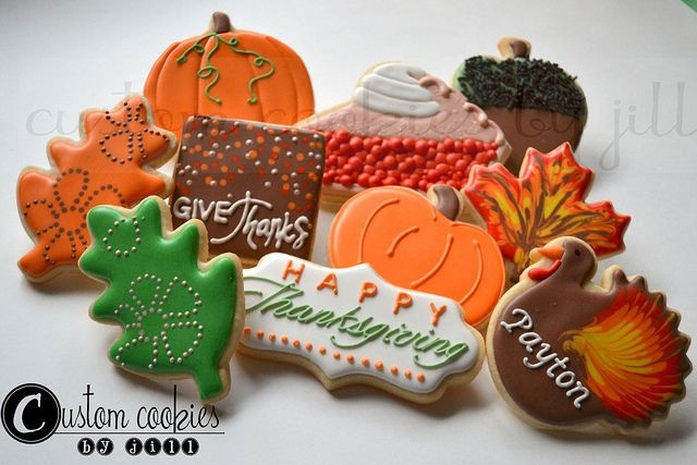 Fall Cut Out Cookies  Thanksgiving Flickr Sharing