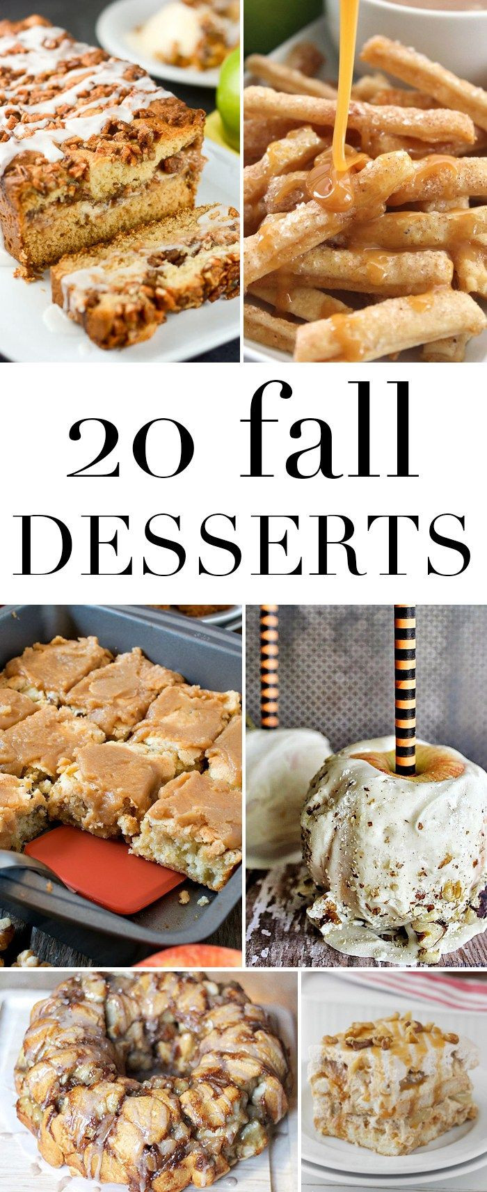Fall Dessert Ideas  92 best images about Seasonal Fall on Pinterest