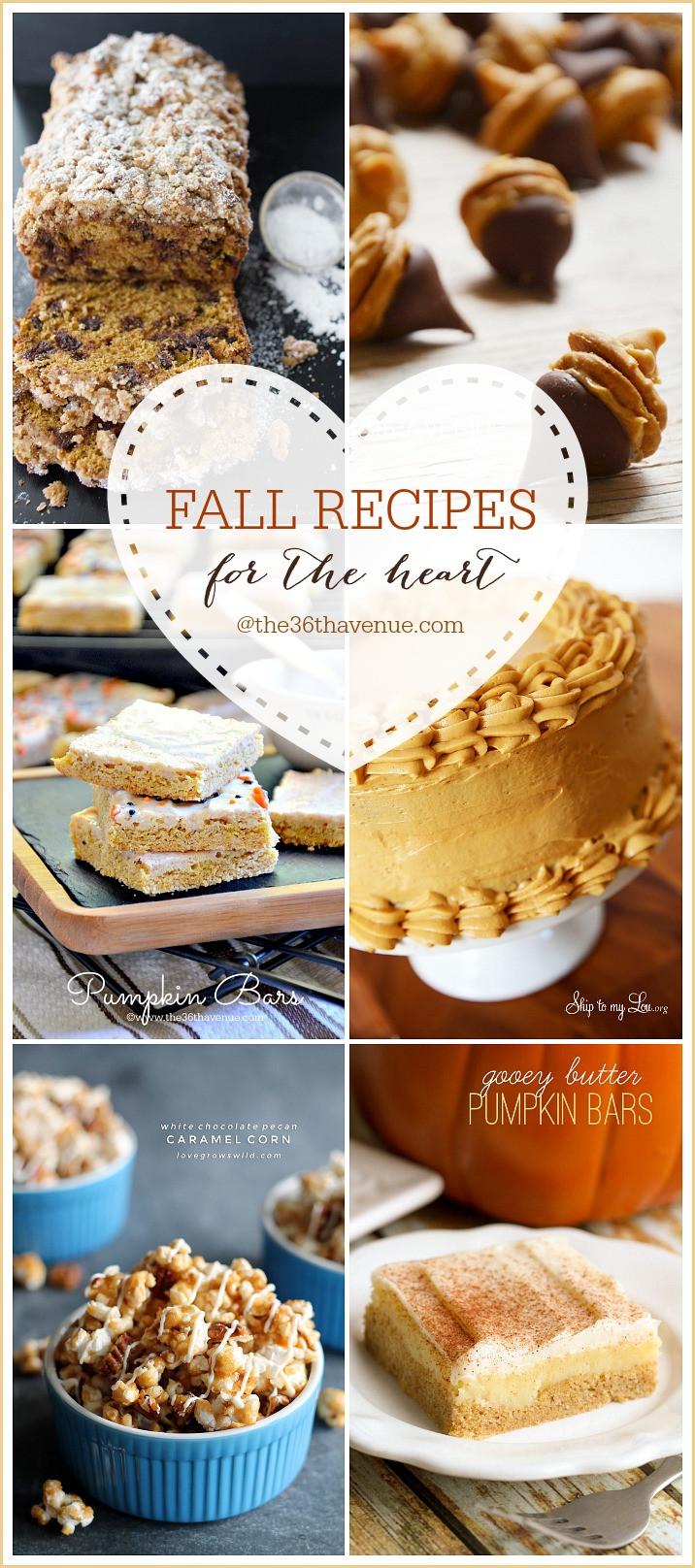 Fall Dessert Ideas  Fall Dessert Recipes The 36th AVENUE