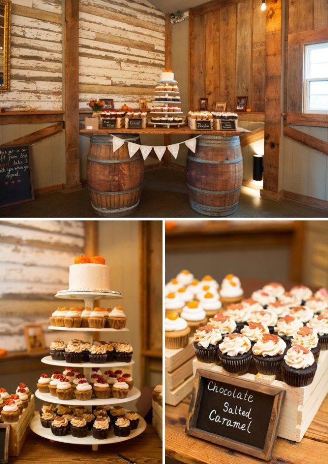 Fall Desserts 2019  Fall wedding dessert bar BarnWeddingIdeas