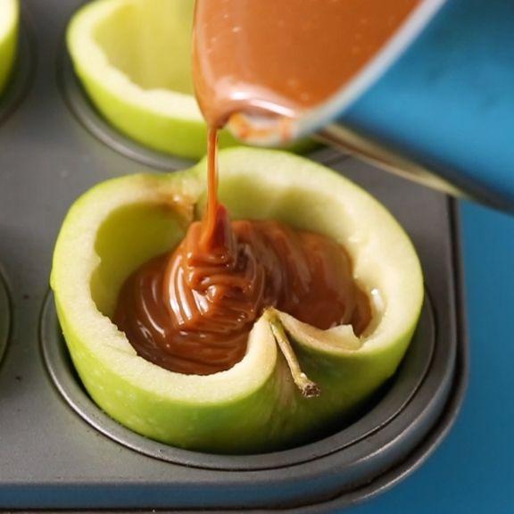 Fall Desserts 2019  Bourbon Caramel Apples Recipe in 2019