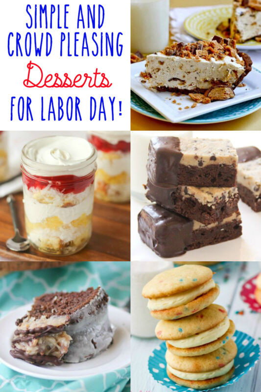 Fall Desserts For A Crowd  Simple and Crowd Pleasing Labor Day Desserts