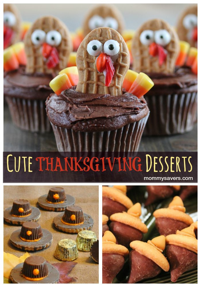 Fall Desserts For Kids  Cute Thanksgiving Desserts dessert thanksgiving
