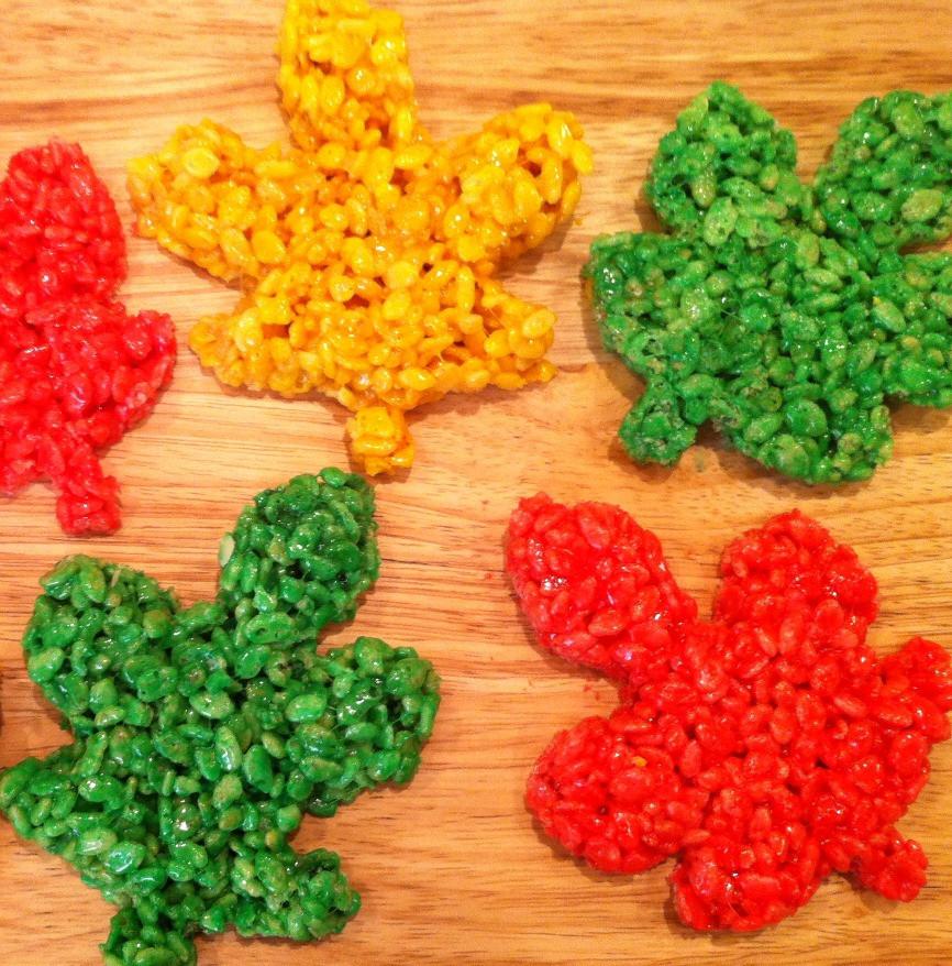 Fall Desserts For Kids  Rice Krispy Treats Fun and Yummy Fall RecipeMom it Forward