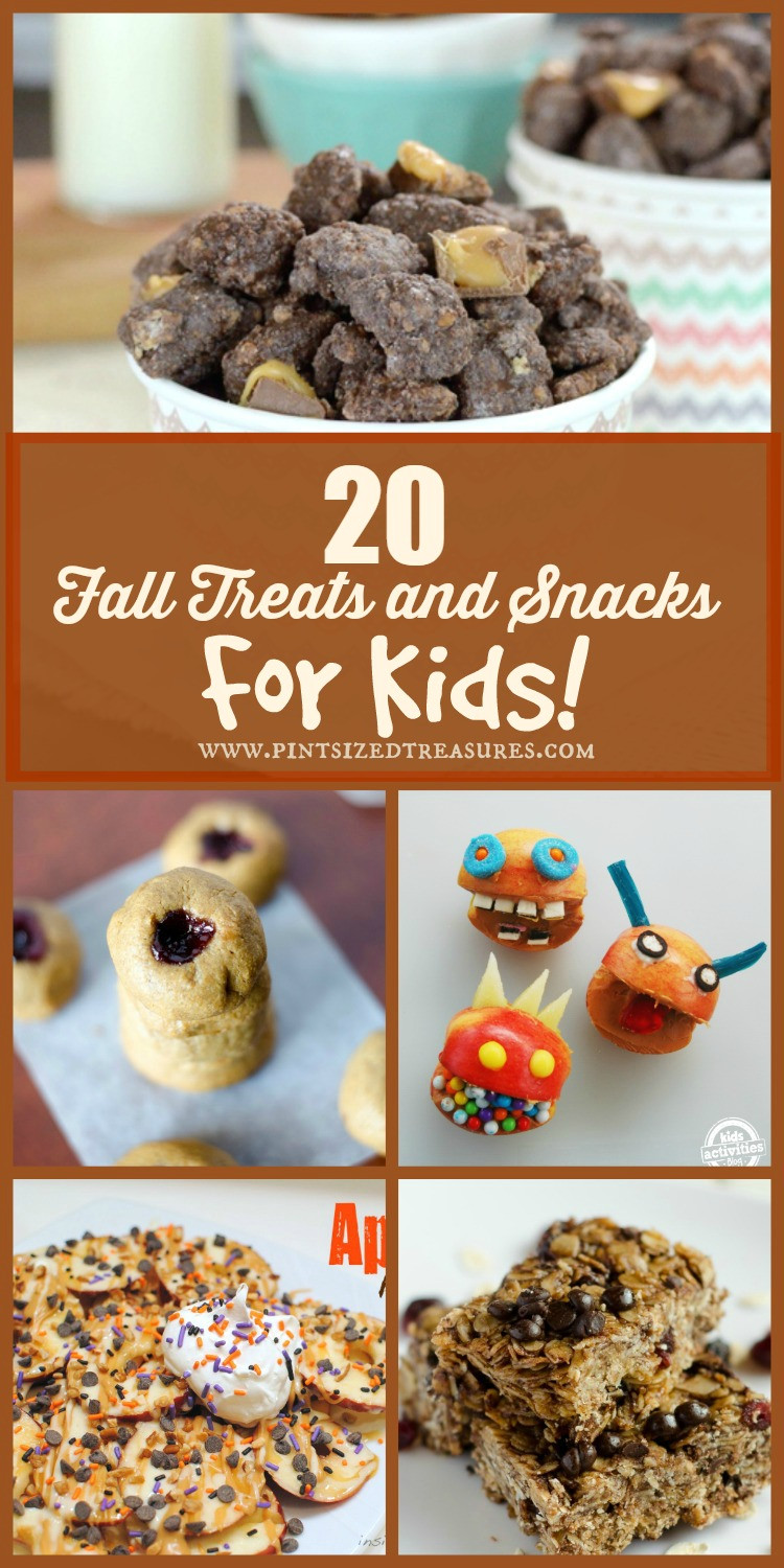 Fall Desserts For Kids  20 Fun Fall Snacks and Treats For KIDS Plus $500