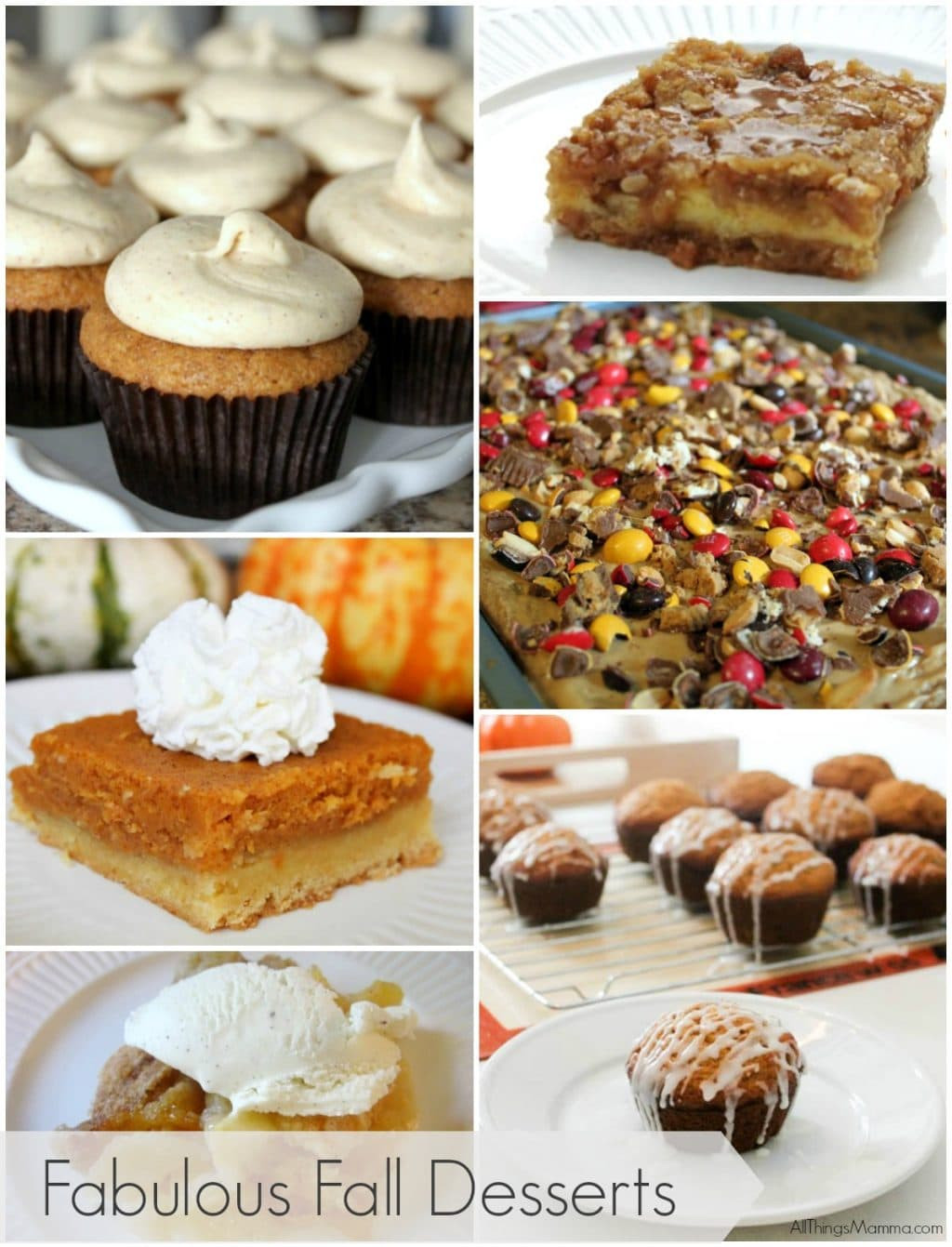 Fall Desserts Pinterest  6 Fabulous Fall Desserts