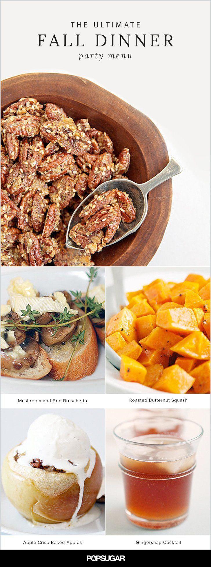 Fall Dinner Ideas  Top 25 ideas about Fall Dinner Parties on Pinterest