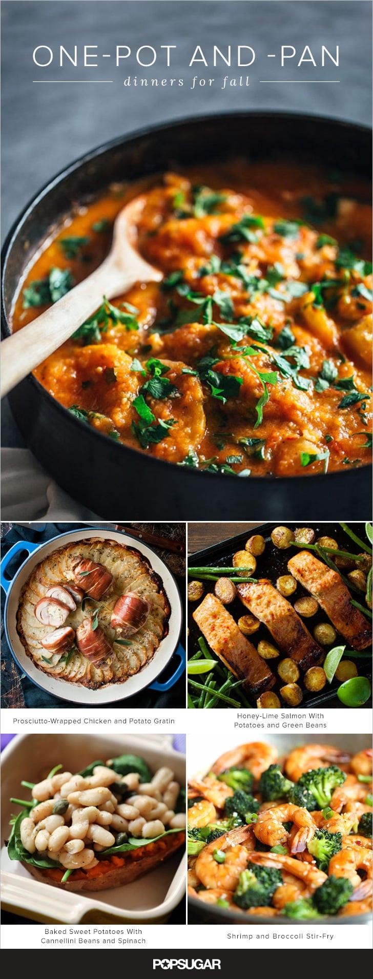 Fall Dinner Ideas  e Pot Fall Dinner Recipes