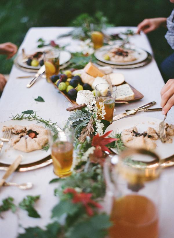 Fall Dinner Ideas  Fall Wedding Dinner Ideas ce Wed