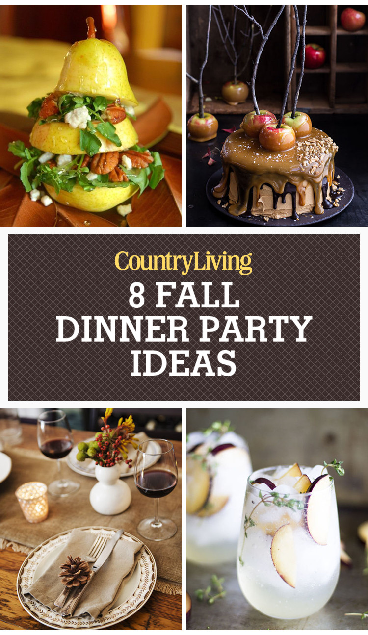 Fall Dinner Party Ideas  Fall Dinner Party Ideas Fall Entertaining Tips