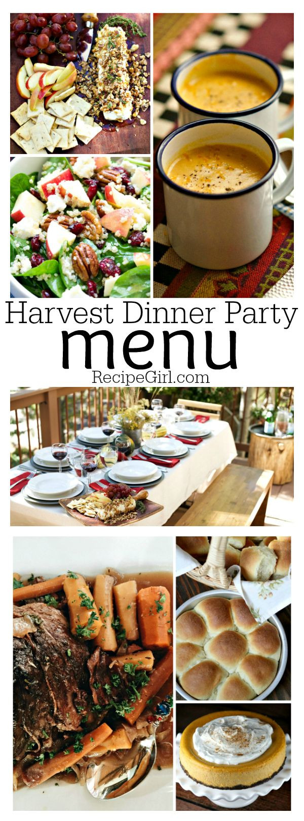 Fall Dinner Party Ideas  25 best ideas about Fall Dinner Parties on Pinterest