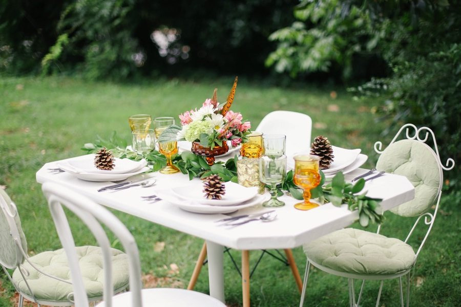 Fall Dinner Party Ideas  A Pretty Outdoor Fall Dinner Party The Sweetest Occasion