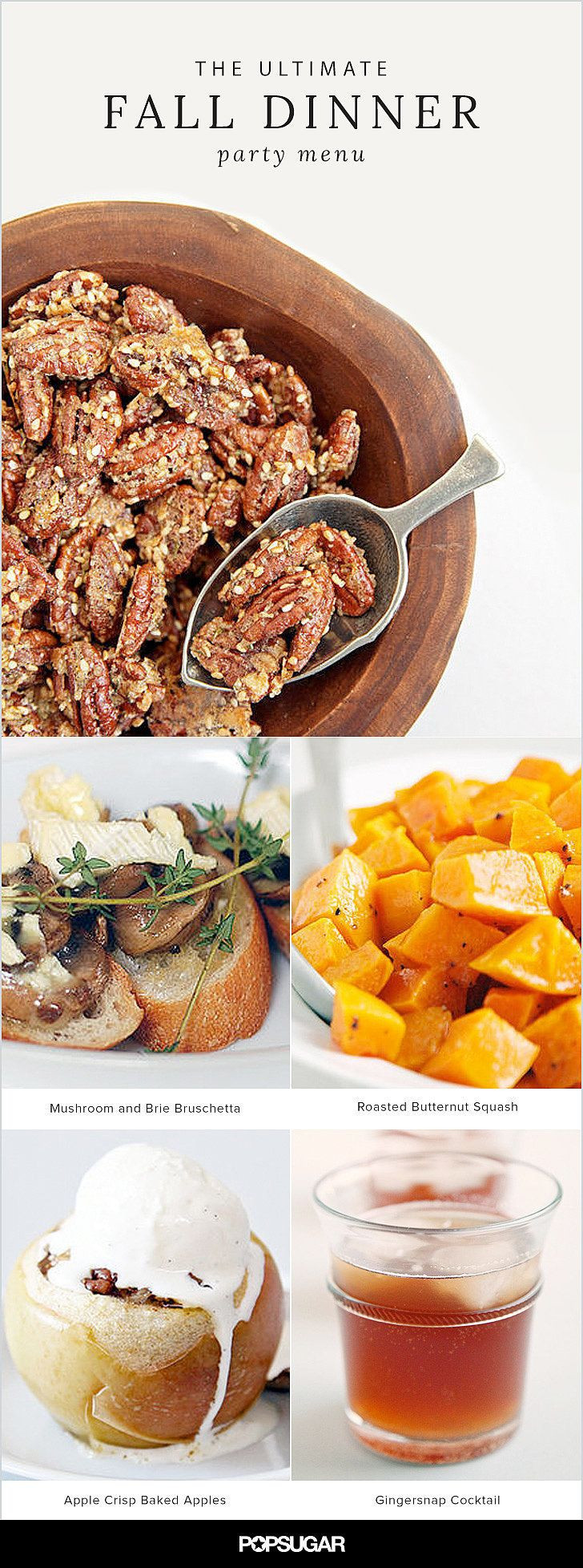 Fall Dinner Party Menu  Best 10 Wedding dinner menu ideas on Pinterest