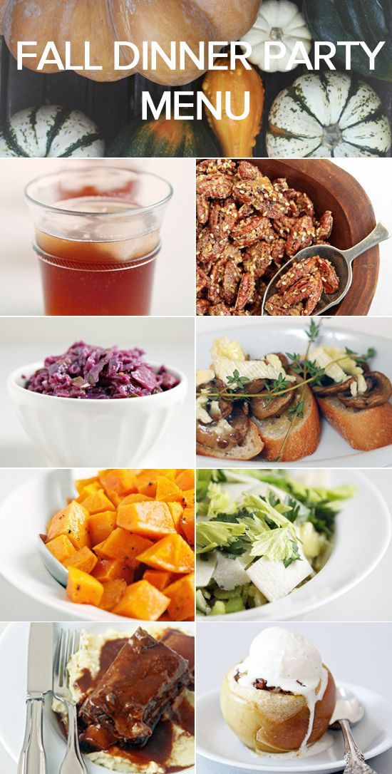 Fall Dinners For A Crowd  1000 ideas about Fall Dinner Parties on Pinterest