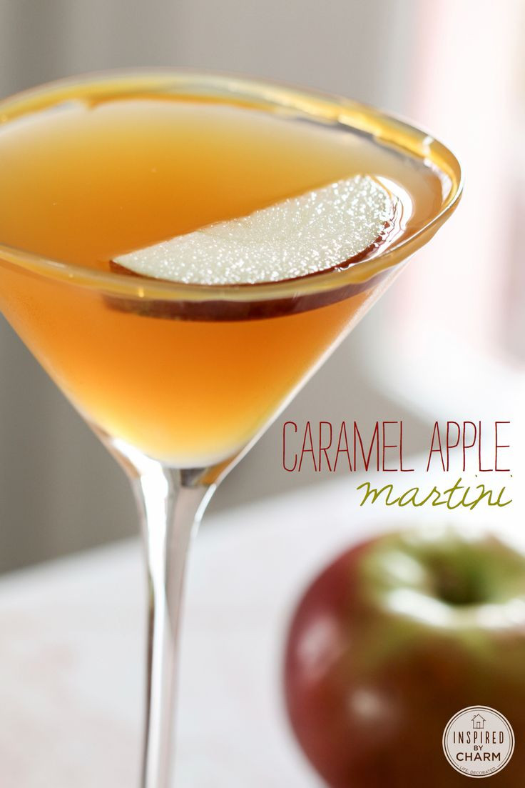 Fall Drinks With Vodka  1000 ideas about Caramel Apple Martini on Pinterest