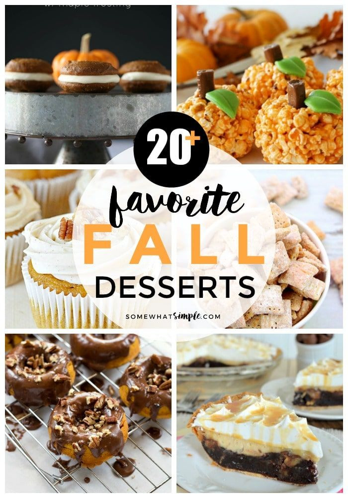 Fall Flavors For Desserts  1778 best The Best of Somewhat Simple images on Pinterest