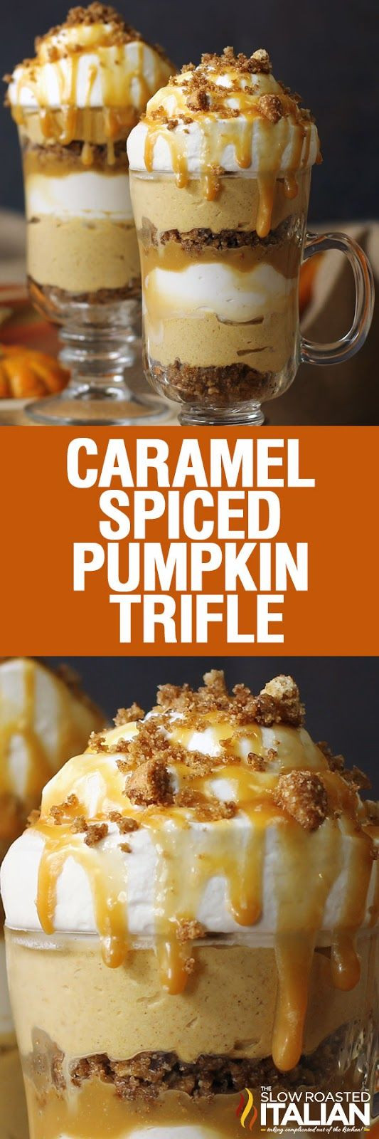 Fall Flavors For Desserts  This Caramel Spiced Pumpkin Parfait brings your favorite