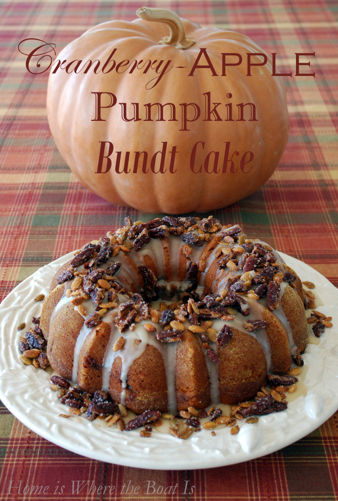 Fall Flavors For Desserts  The Flavors of Fall in a Cake Cranberry Apple Pumpkin