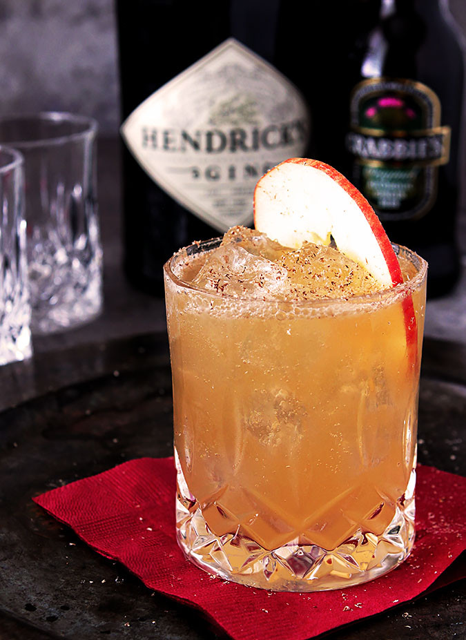 Fall Gin Drinks  Hendrick's Gin 'Fall All Over' Cocktail by Barb Kiebel