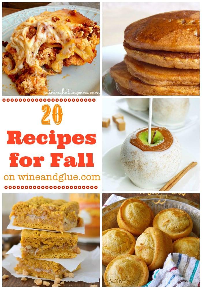Fall Main Dishes  20 Fall Recipes Wine & Glue