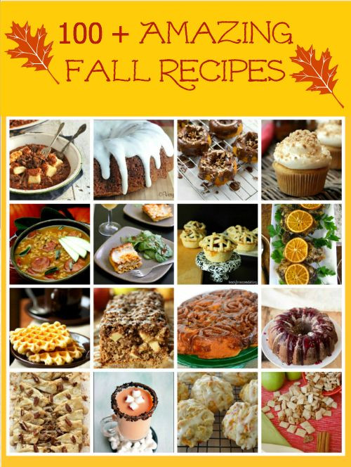 Fall Main Dishes  100 Amazing Fall Recipes