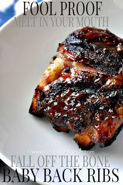 Fall Off The Bone Beef Ribs  Pinterest • The world's catalog of ideas