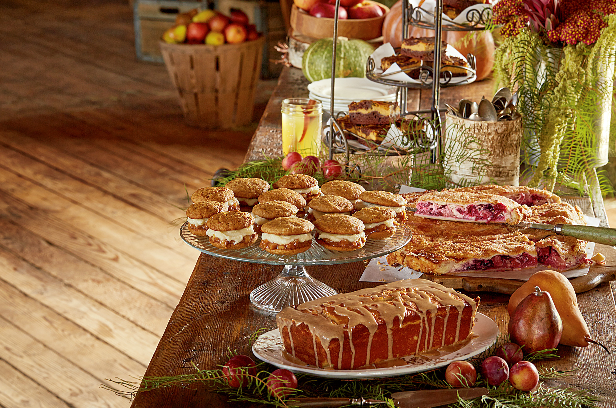 Fall Party Desserts  Fall Harvest Party Inspiration A Fall Menu with Wisconsin