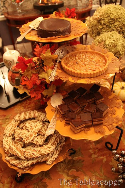 Fall Party Desserts  23 best images about Buffet Parties & Get To hers on