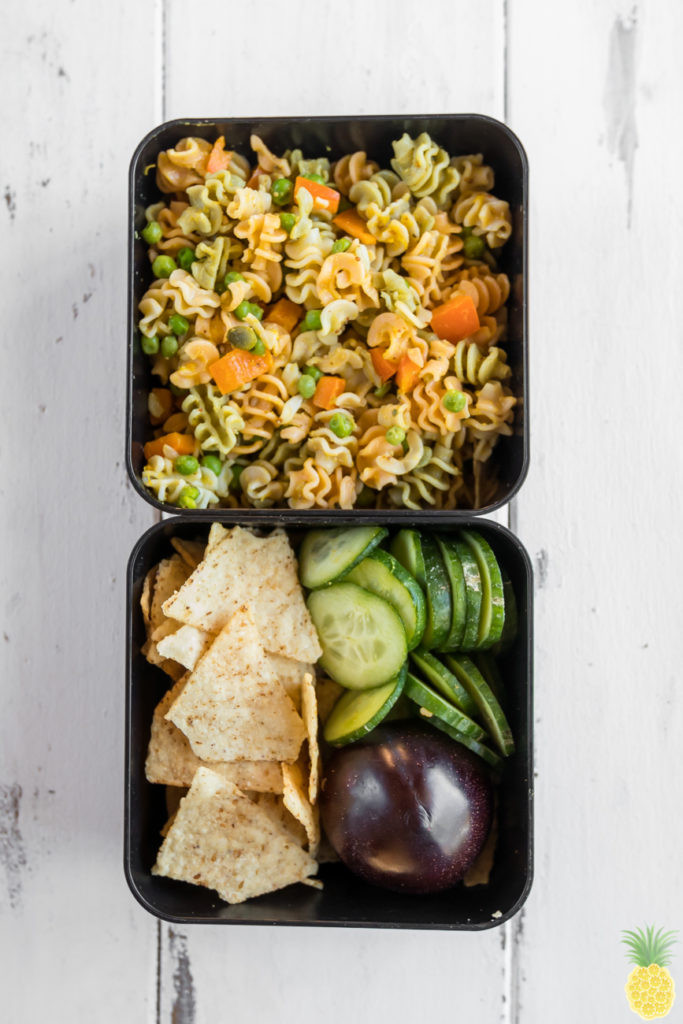 Fall Pasta Salad  Fall Pasta Salad w Avocado Dijon Dressing oil free
