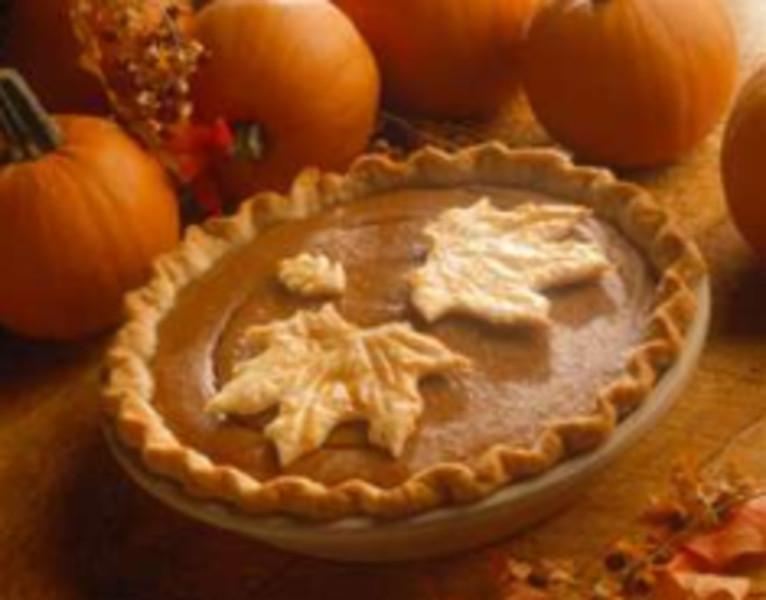 Fall Pie Recipes  Autumn Apple Butter Pumpkin Pie Recipe by Robyn CookEat