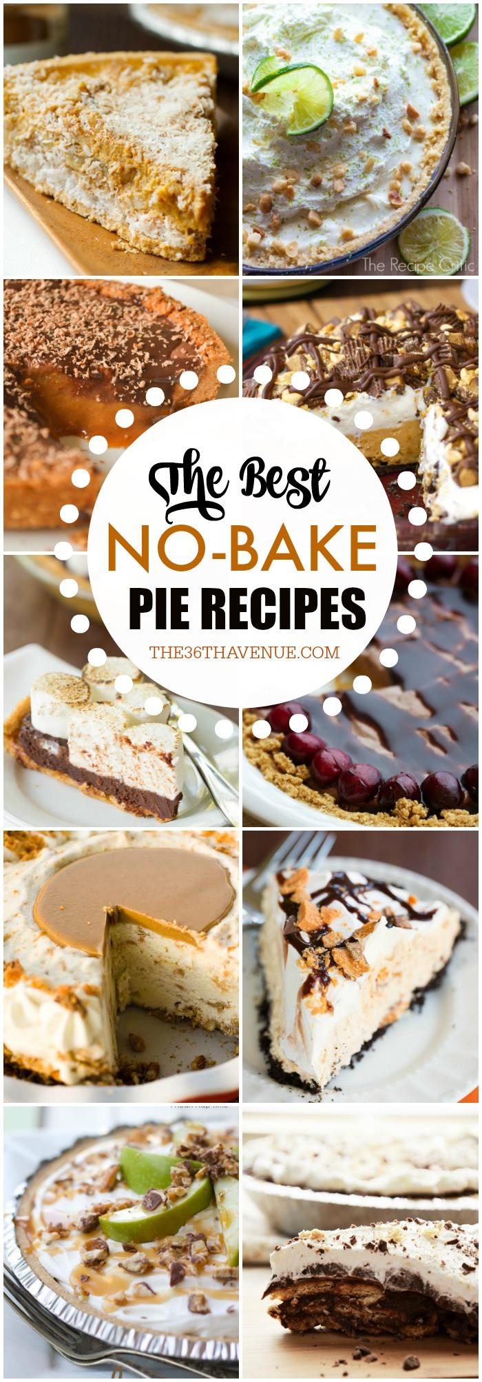 Fall Pie Recipes  15 No Bake Pie Recipes The 36th AVENUE