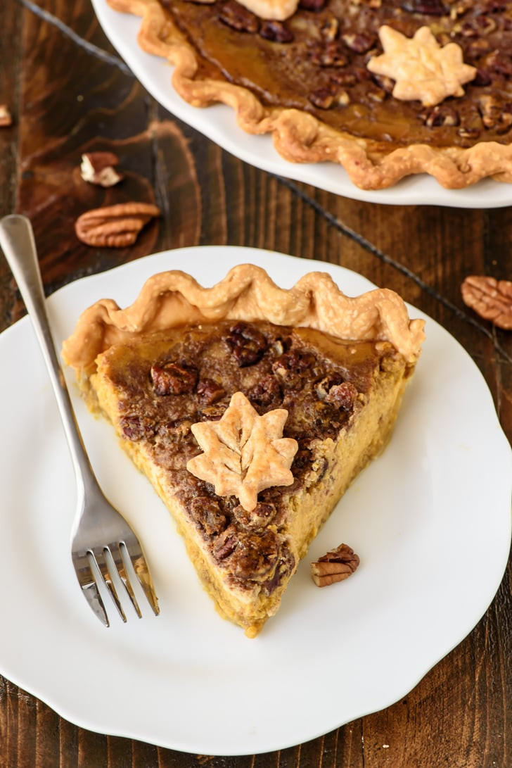 Fall Pie Recipes  Pumpkin Pecan Pie Fall Pie Recipes