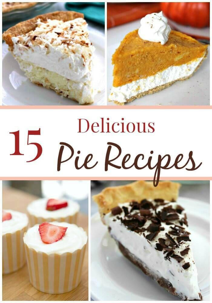 Fall Pie Recipes  The BEST Fall Pies on Pinterest