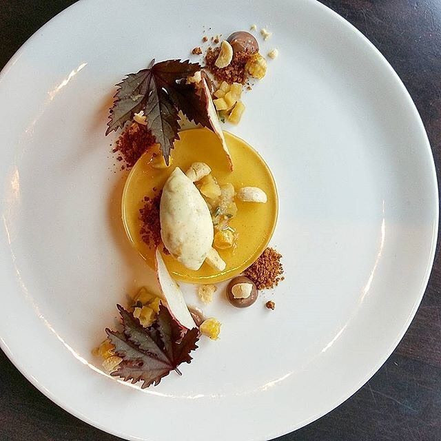 Fall Plated Desserts  Valrhona Cercle V member Pastry Chef Robert from Bistro du