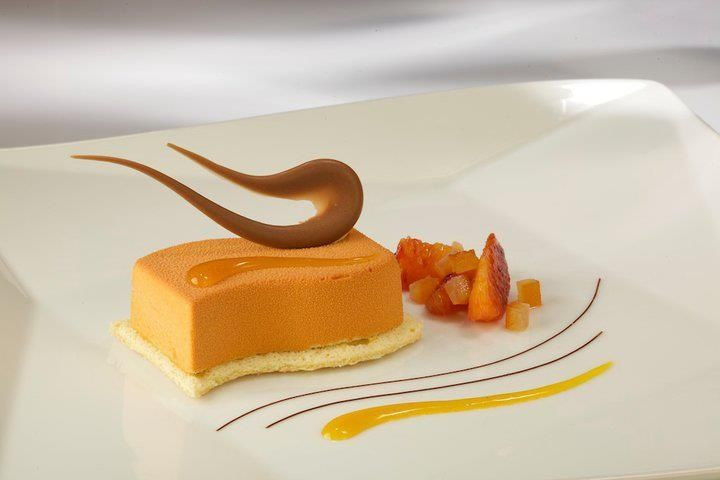 Fall Plated Desserts  Fine Dining Plated Desserts