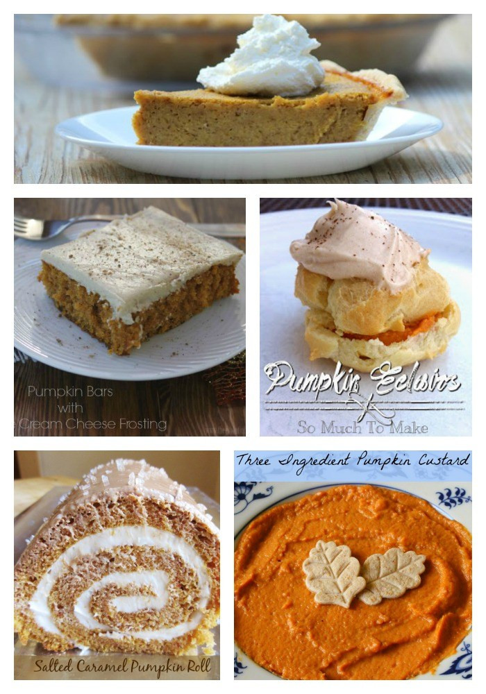 Fall Pumpkin Desserts  Merry Monday 74