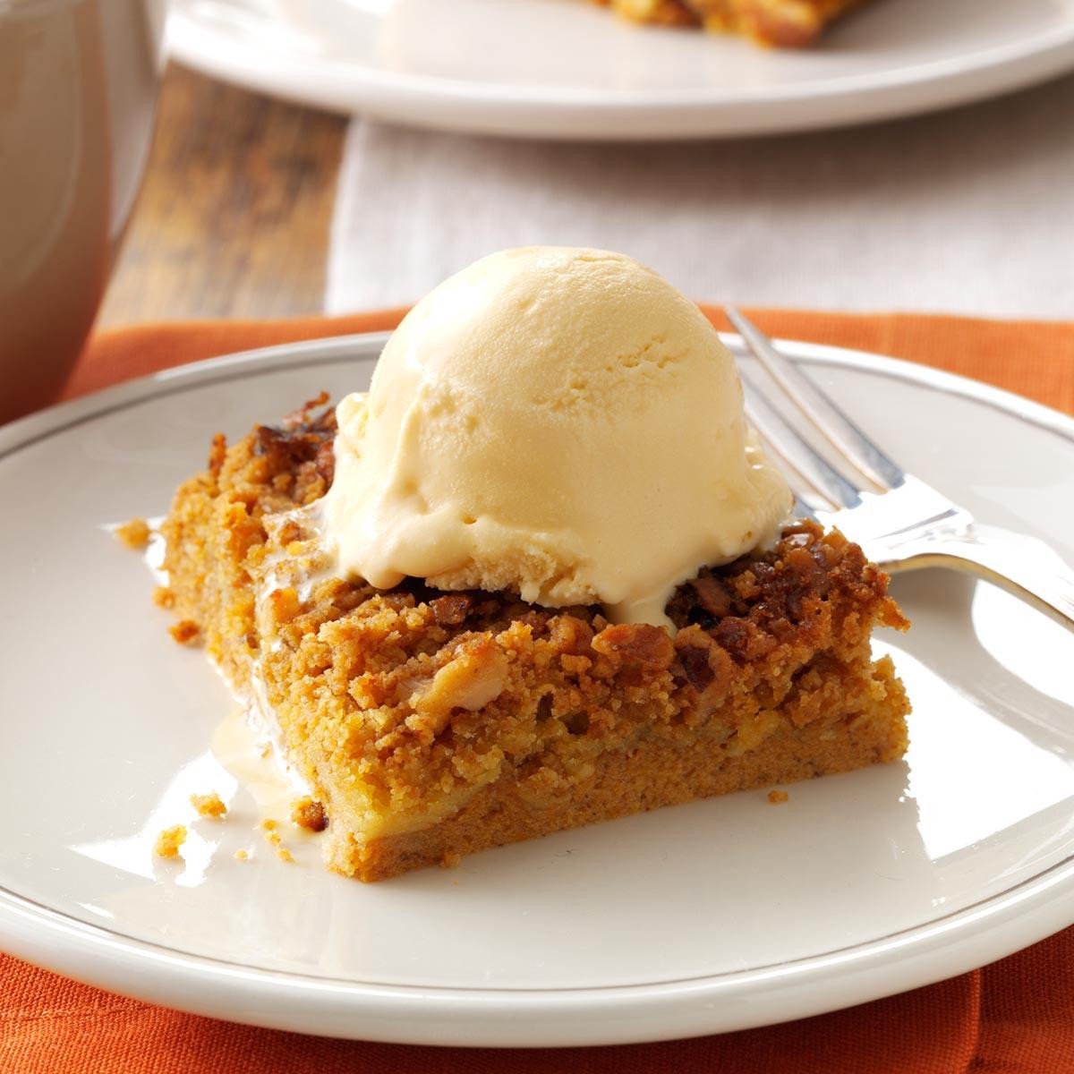 Fall Pumpkin Desserts  Great Pumpkin Dessert Recipe