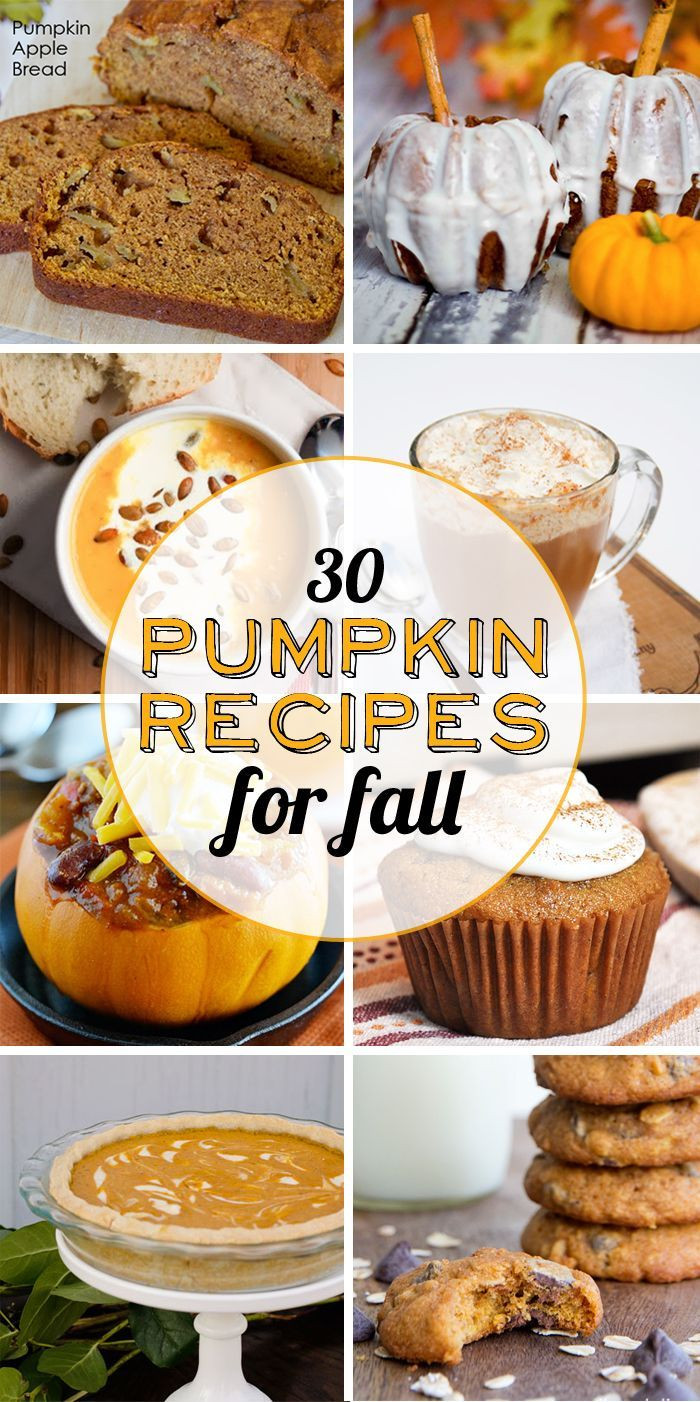 Fall Pumpkin Recipes  22 best images about I love Fall on Pinterest
