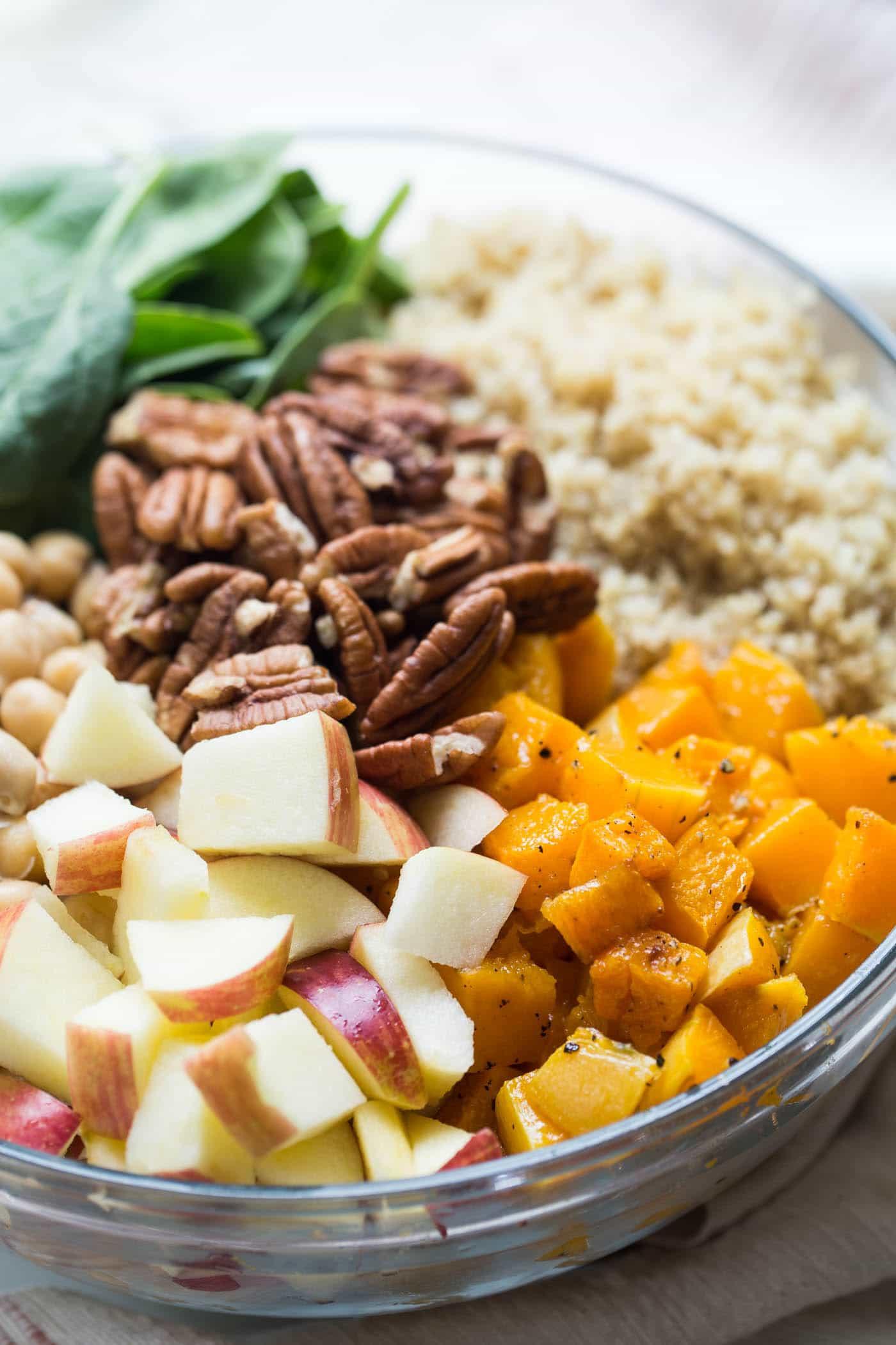 Fall Quinoa Recipe  Fall Quinoa Salad with Butternut Squash Simply Quinoa