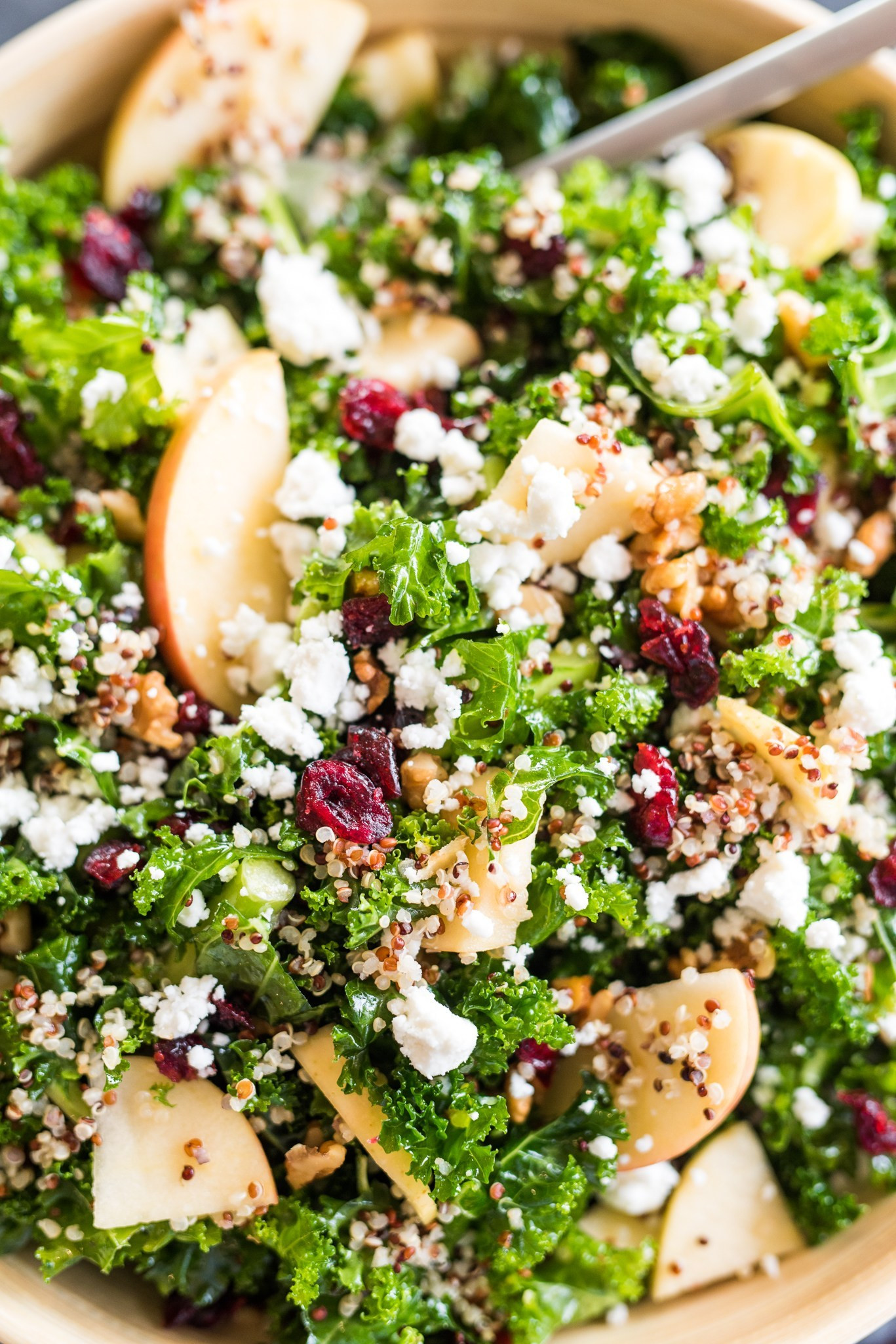 Fall Quinoa Recipe  The Perfect Fall Quinoa Salad Apple of My Eye