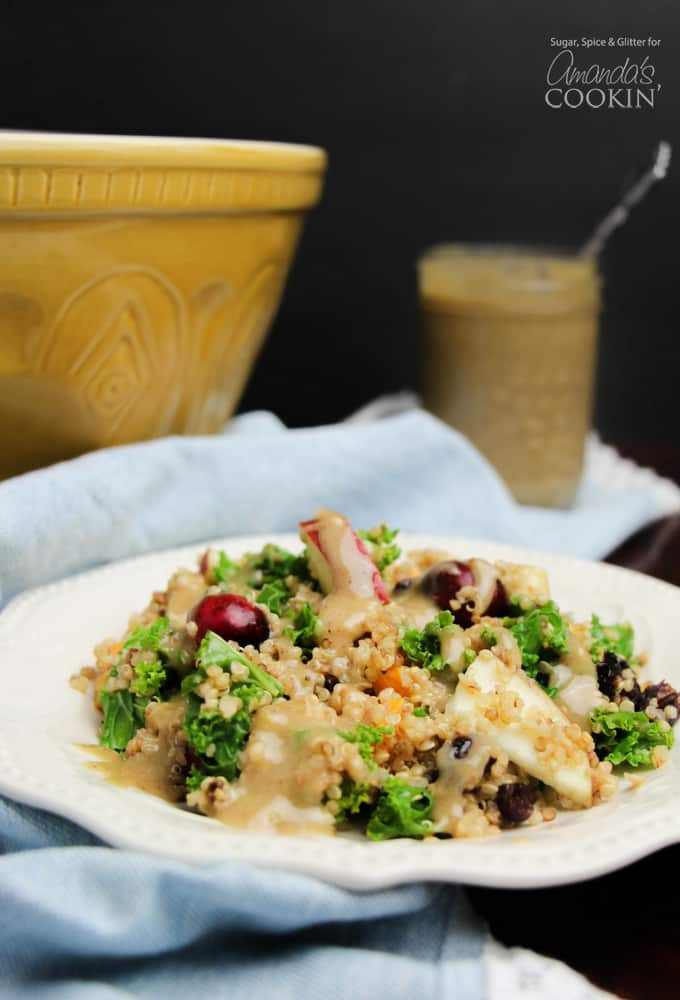 Fall Quinoa Recipes  Quinoa Salad a fresh and vibrant fall quinoa salad